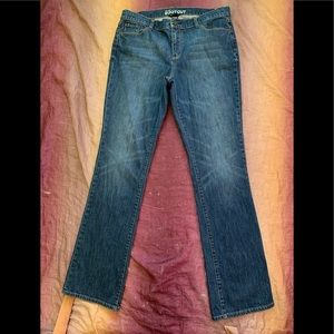 New York & Company Low Rise Boot Cut Jeans